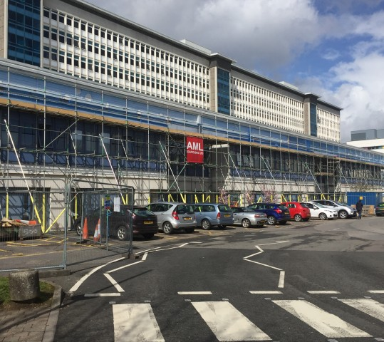 Out-Patients, University Hospital of Wales